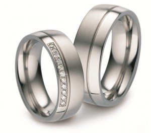 juwelierdetijd - Titanium trouwringen